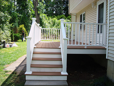 Massachusetts Composite Deck Photo Gallery Worcester