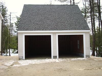 Massachusetts Garage Construction Photo Gallery 1