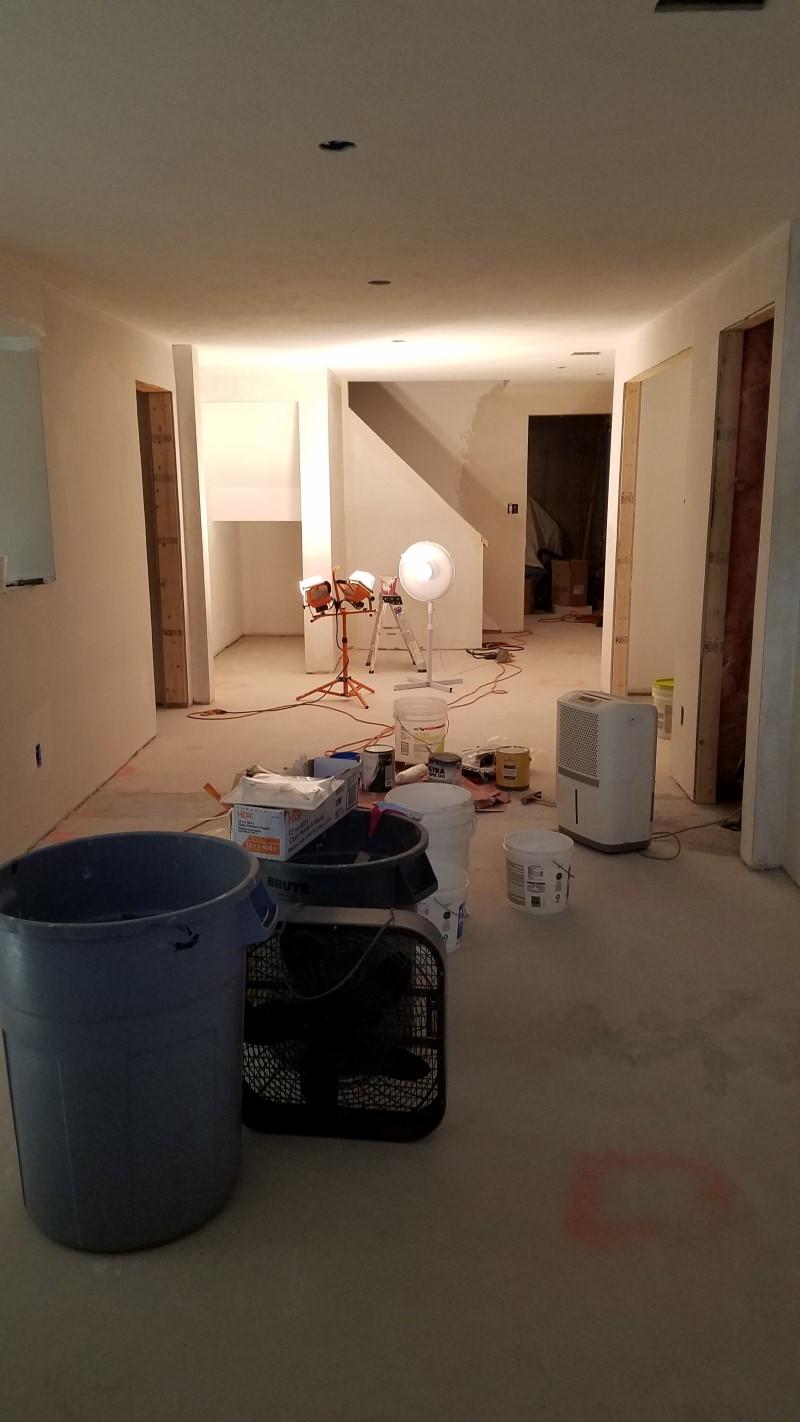Basement Remodel in Grafton, MA