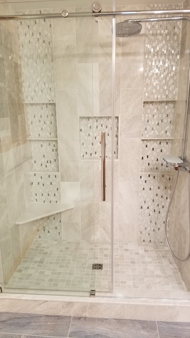 Bathroom Renovation in North Oxford, MA