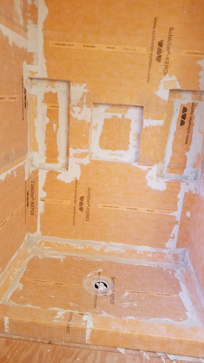 Bathroom Renovation in North Oxford, MA