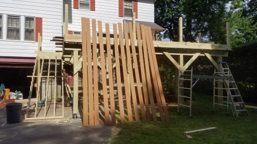 Deck Construction in worcester, MA